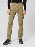 Stretch Sateen Lens Cargo Pant - Gothic Olive-CP COMPANY-Over the Rainbow