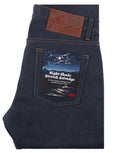 Weird Guy Stretch Selvedge Jean - Night Shade-Naked & Famous-Over the Rainbow