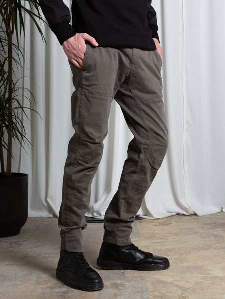 Raso Stretch Pant - Dusty Olive-CP COMPANY-Over the Rainbow