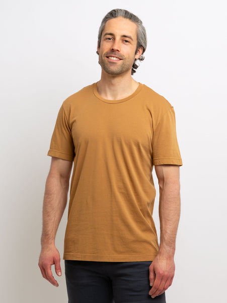 Howard Classic Whisper T-Shirt - Camel-Velvet-Over the Rainbow
