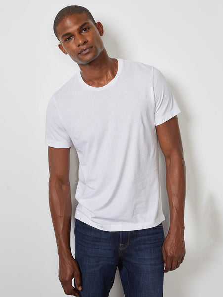 Howard Classic Whisper T-Shirt - White-Velvet-Over the Rainbow