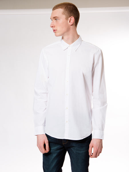 Jonah Woven Button Up Shirt - White-Velvet-Over the Rainbow