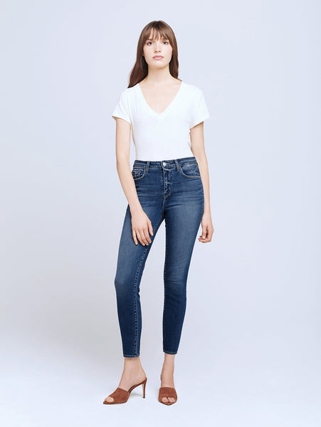 Margot High Rise Skinny Jean - Laredo-LAGENCE-Over the Rainbow