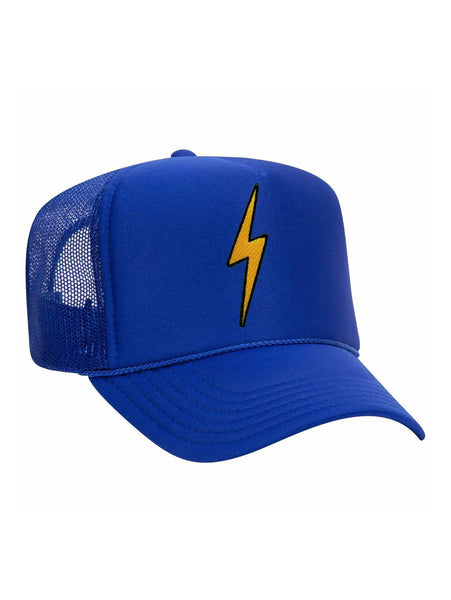 Vintage Bolt Trucker Hat - Royal Blue-AVIATOR NATION-Over the Rainbow