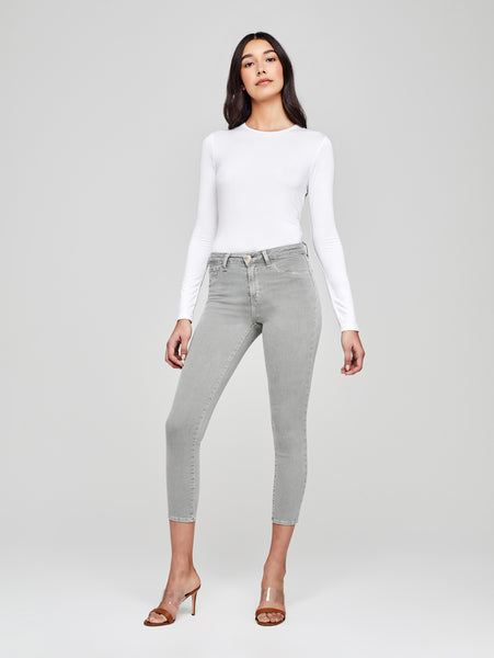 Margot High Rise Skinny Jean - Marsh-L'AGENCE-Over the Rainbow