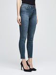 Marguerite High Rise Skinny Jean - New Vintage-LAGENCE-Over the Rainbow