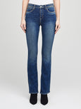 Oriana High Rise Straight Jean - Monterey-L'AGENCE-Over the Rainbow