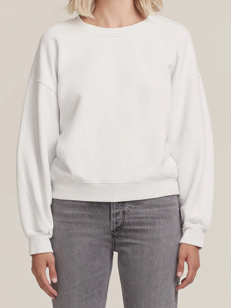 Balloon Sleeve Sweatshirt-AGOLDE-Over the Rainbow