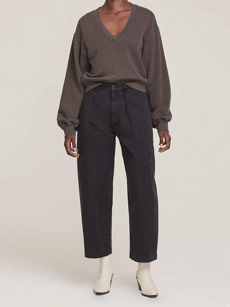 Mari Oversized Utility Pant - Lava Stone-AGOLDE-Over the Rainbow