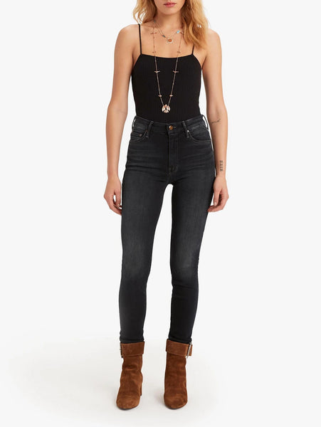 Looker High Waisted Skinny Jean - Coffee, Tea or Me-Mother-Over the Rainbow