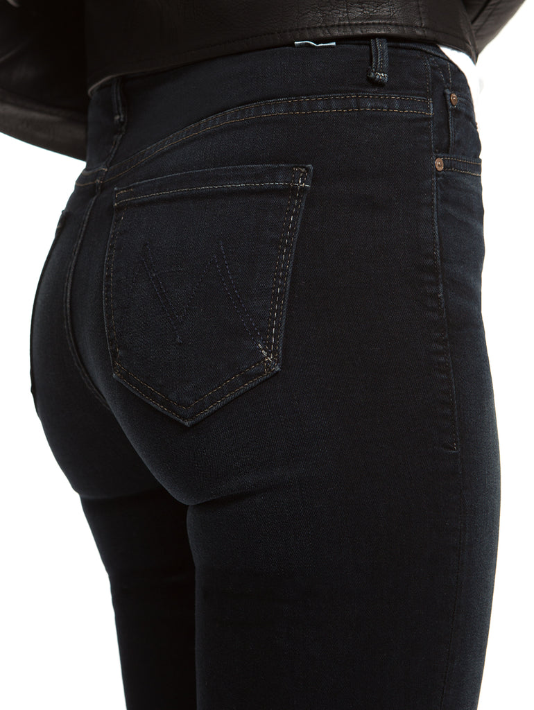 High Waisted Looker Jean in Coffee, Tea or Me-Mother Denim-Over the Rainbow