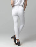 Rocket Crop High Rise Skinny Jean - White Sculpt-Citizens of Humanity-Over the Rainbow