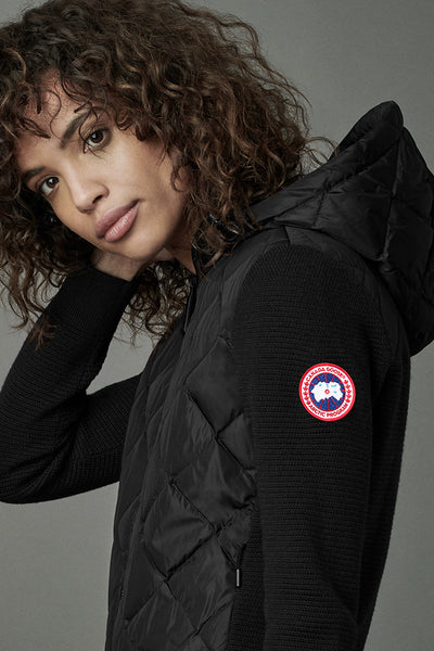 Hybridge Quilted Knit Hoody-Canada Goose-Over the Rainbow