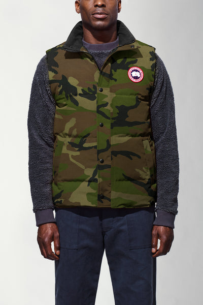 Garson Vest-Canada Goose-Over the Rainbow
