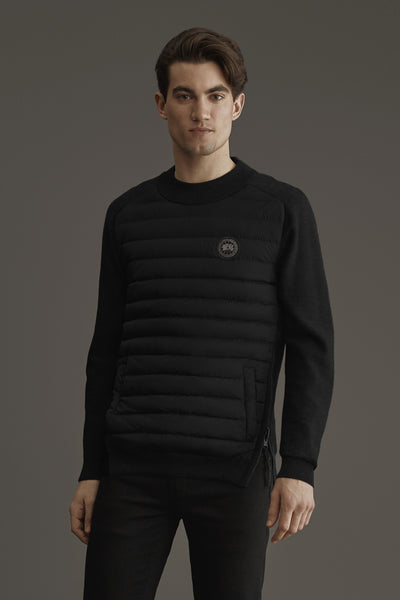Hybridge Knit Reversible Pullover Black Label-Canada Goose-Over the Rainbow