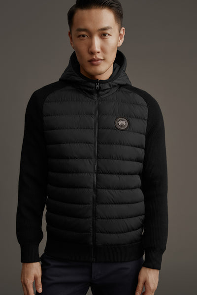 Hybridge Knit Reversible Hoody Black Label-Canada Goose-Over the Rainbow
