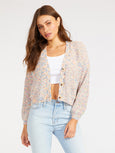 Golden Hour Speckled Cardigan-BB DAKOTA-Over the Rainbow