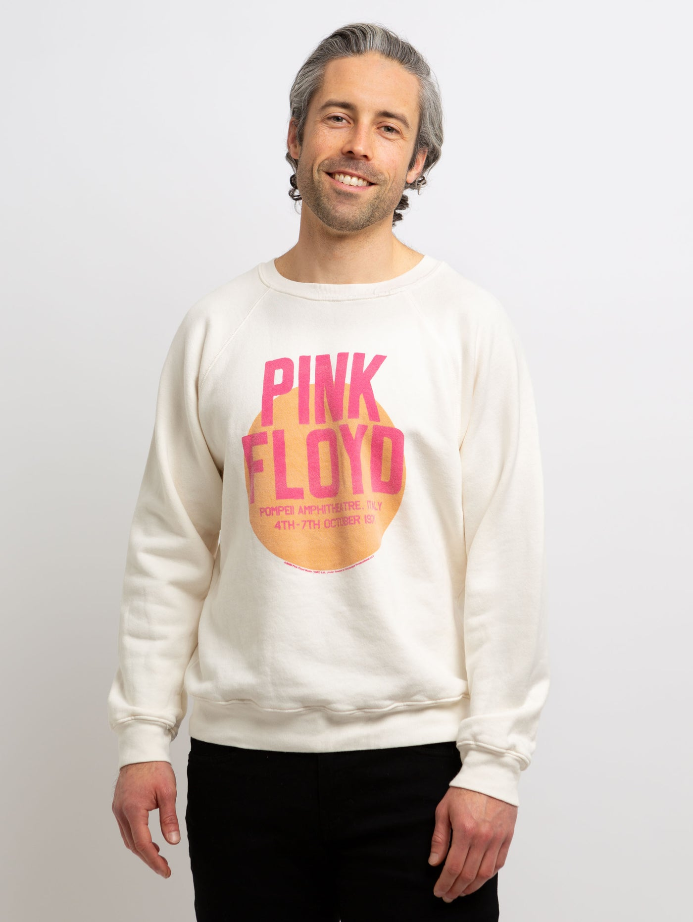Pink Floyd Pompeii Sweatshirt-Retro Brand-Over the Rainbow