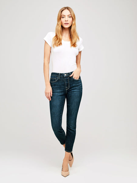 Margot High Rise Skinny Jean - Utica-L'AGENCE-Over the Rainbow