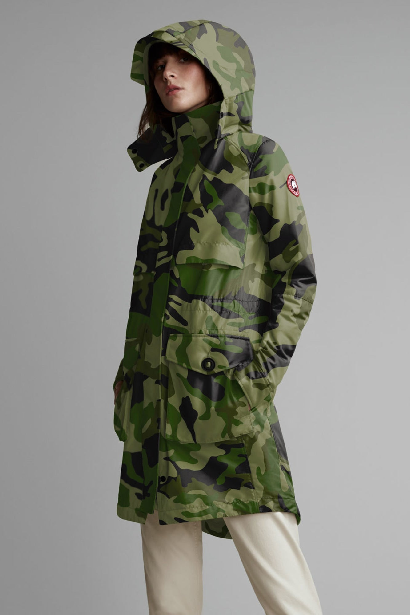Cavalry Trench Coat - Canada Goose Camo-Canada Goose-Over the Rainbow