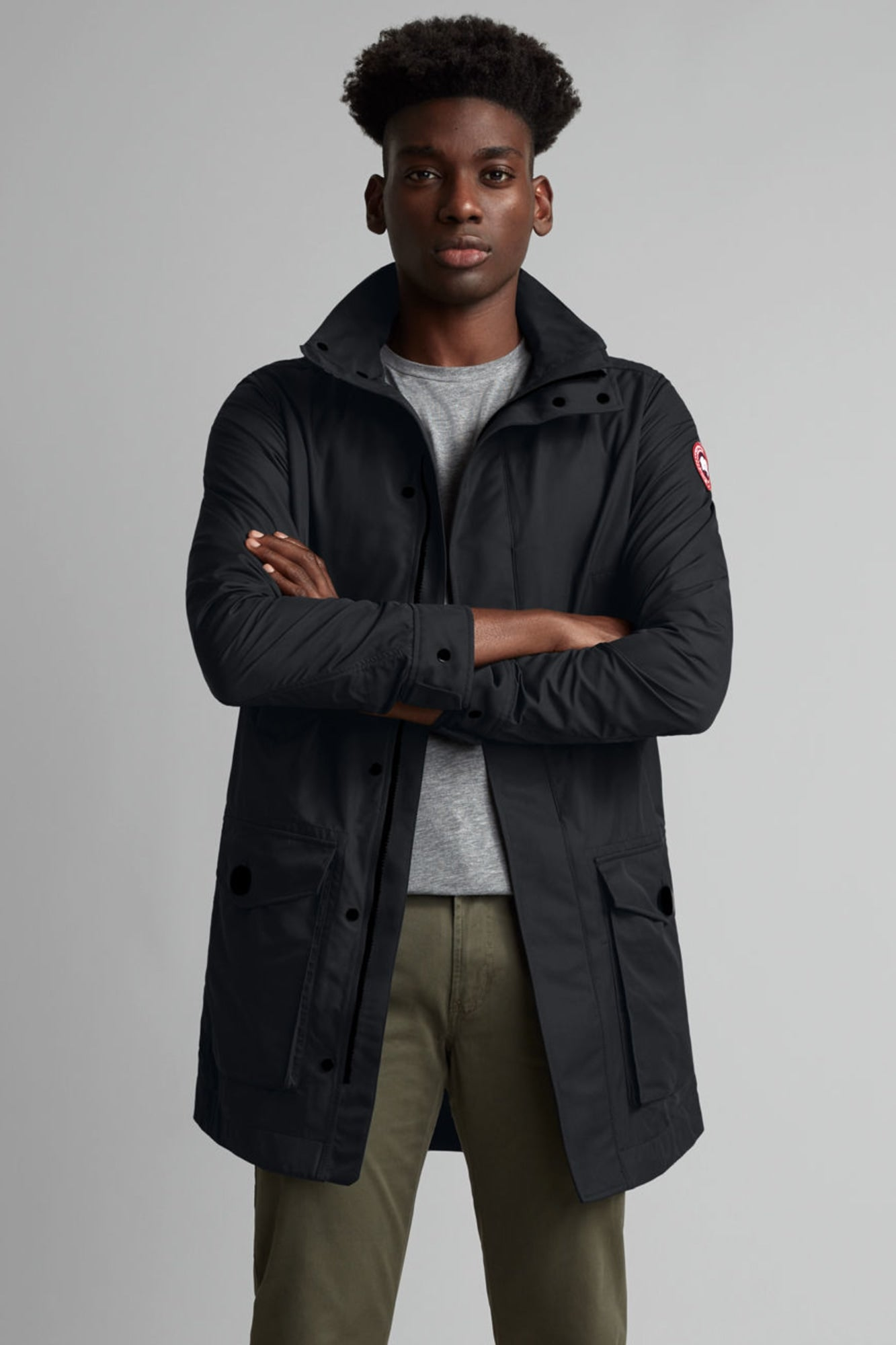 Crew Trench-Canada Goose-Over the Rainbow