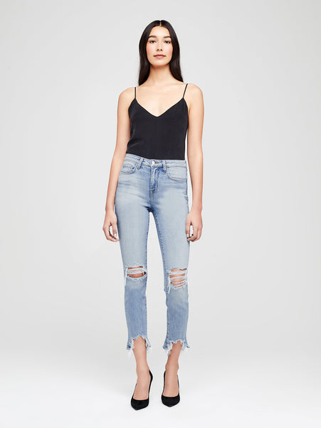 High Line High Rise Skinny Jean - Classic Brasie-L'AGENCE-Over the Rainbow