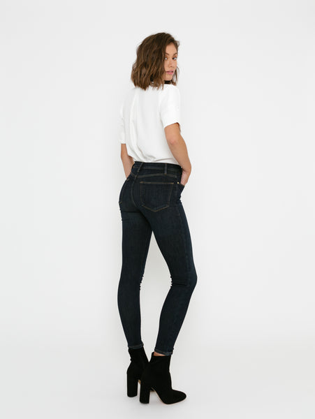 Le High Skinny Jean - Samira-FRAME-Over the Rainbow