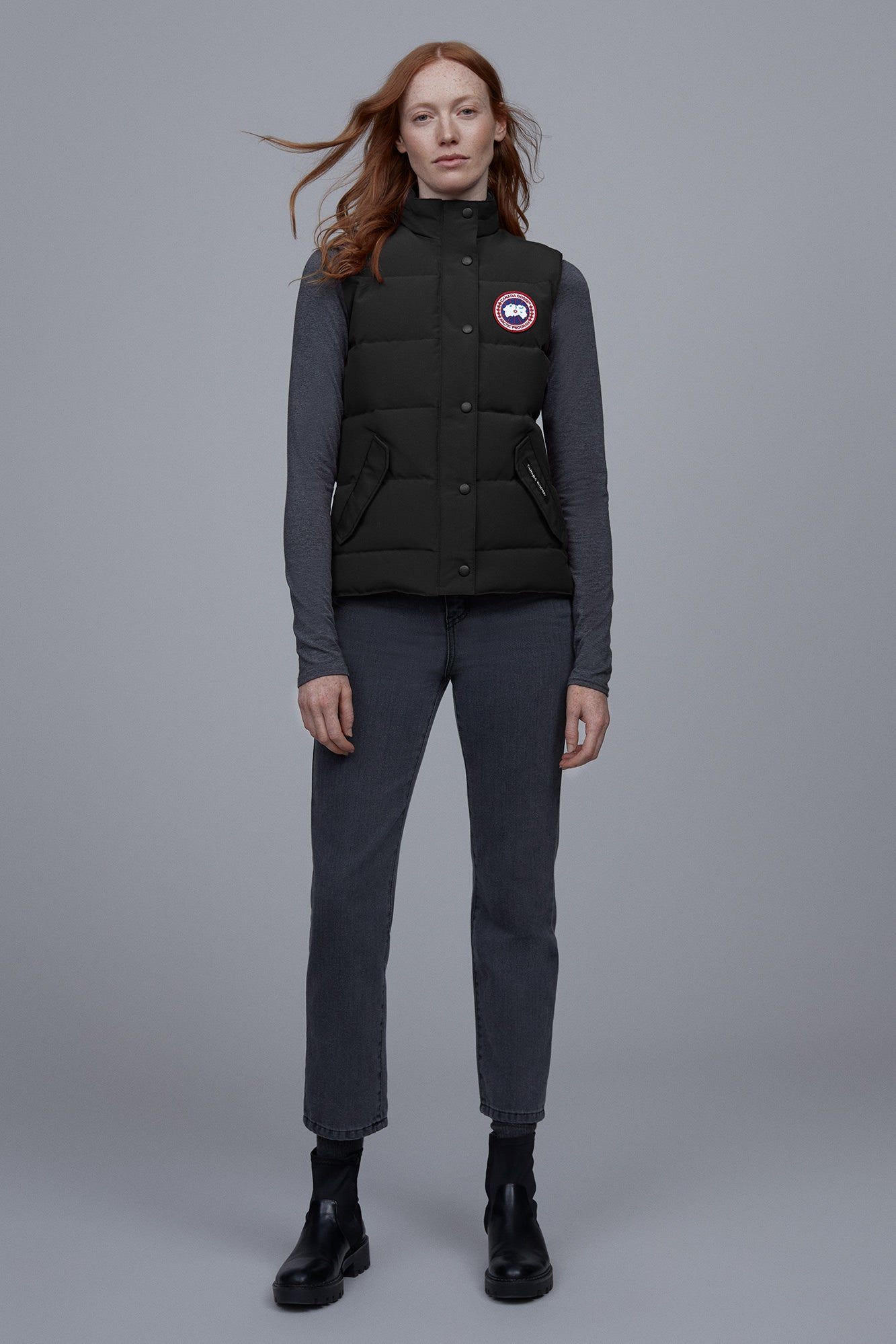 Freestyle Vest - Black-Canada Goose-Over the Rainbow