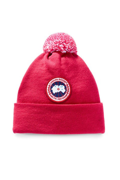 Merino Pom Toque-Canada Goose-Over the Rainbow