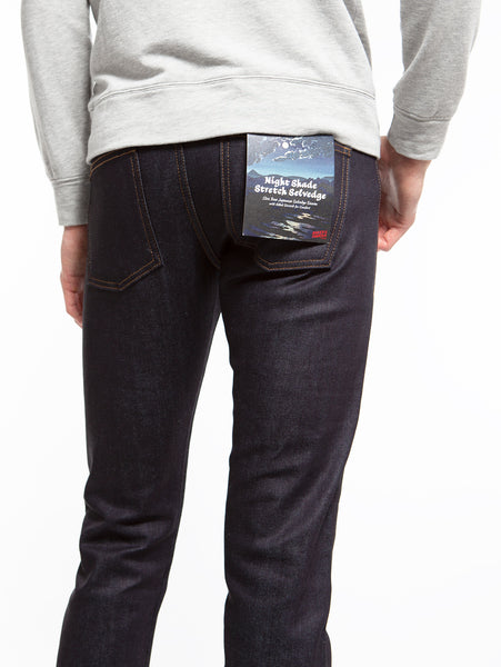 Super Guy Stretch Selvedge Jean - Nightshade-Naked & Famous-Over the Rainbow