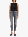 Looker Ankle Fray Skinny Jean - All Nighter-Mother-Over the Rainbow