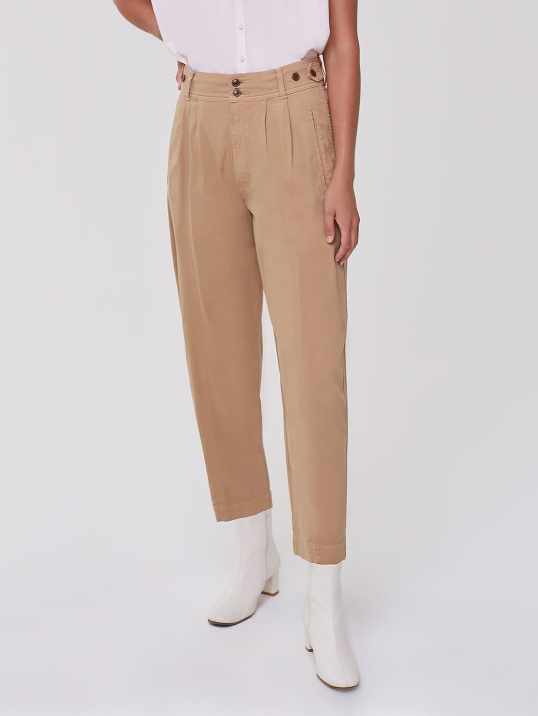 Leona Pleated Pant-Citizens of Humanity-Over the Rainbow