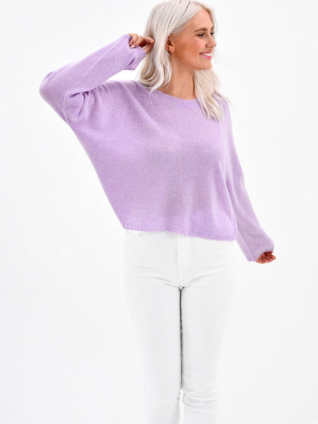 Cashmere Crew Sweater-BRODY-Over the Rainbow