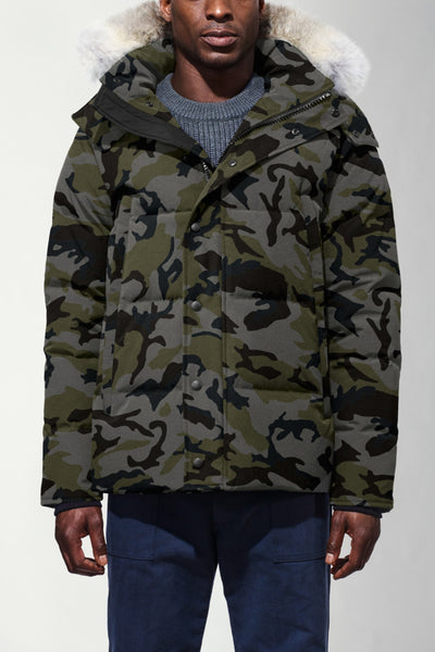 Wyndham Parka - Coastal Camo-Canada Goose-Over the Rainbow