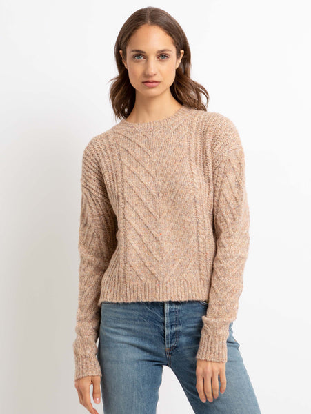Charles Cable Sweater-John + Jenn-Over the Rainbow