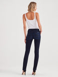 Kimmie Straight Jeans in Blue Black River Thames-Seven for all Mankind-Over the Rainbow
