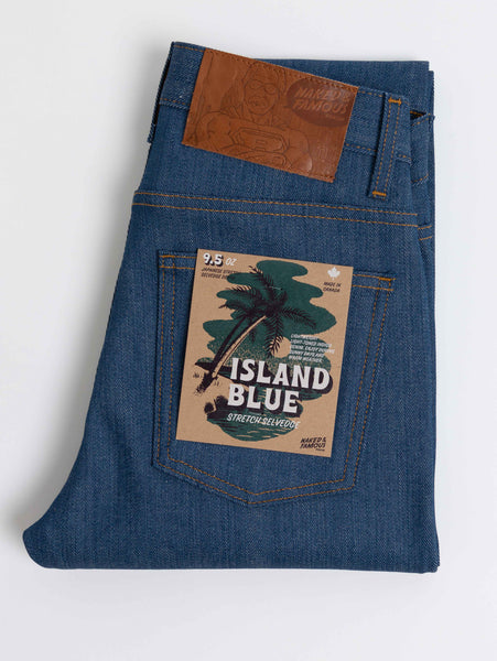 Nice Guy Selvedge Jean - Island Blue-Naked & Famous-Over the Rainbow