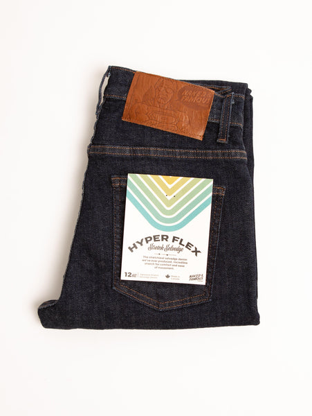 Nice Guy Stretch Selvedge Jean - Hyper Flex-Naked & Famous-Over the Rainbow