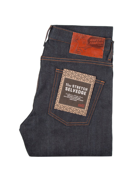 Super Guy Stretch Selvedge Jean - Indigo