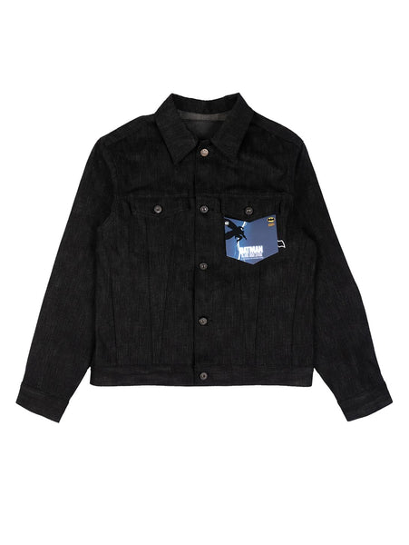Denim Selvedge Jacket - Dark Knight-Naked & Famous-Over the Rainbow