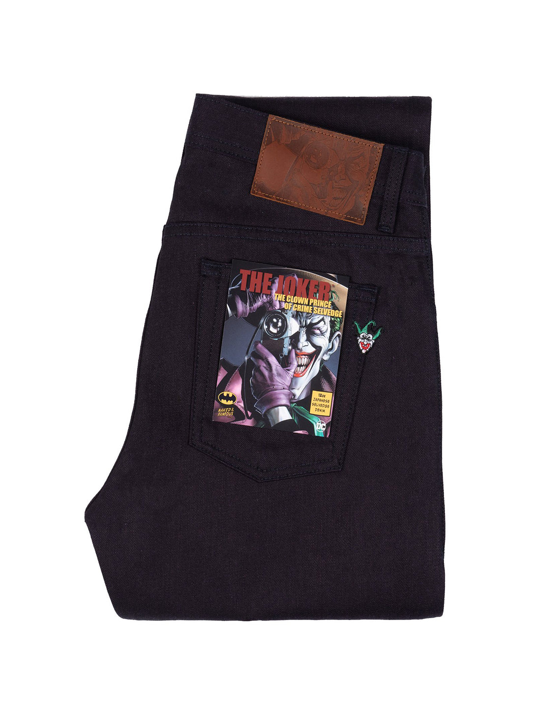 Super Guy Selvedge Jean - Joker The Clown Prince of Crime-Naked & Famous-Over the Rainbow