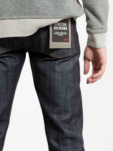 Weird Guy Stretch Selvedge Jean-Naked & Famous-Over the Rainbow