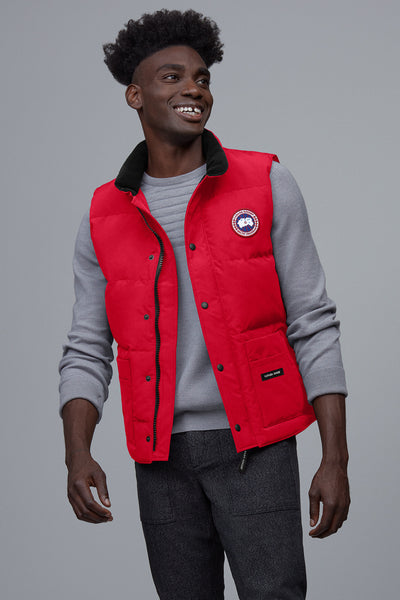 Freestyle Down Vest - Red-Canada Goose-Over the Rainbow