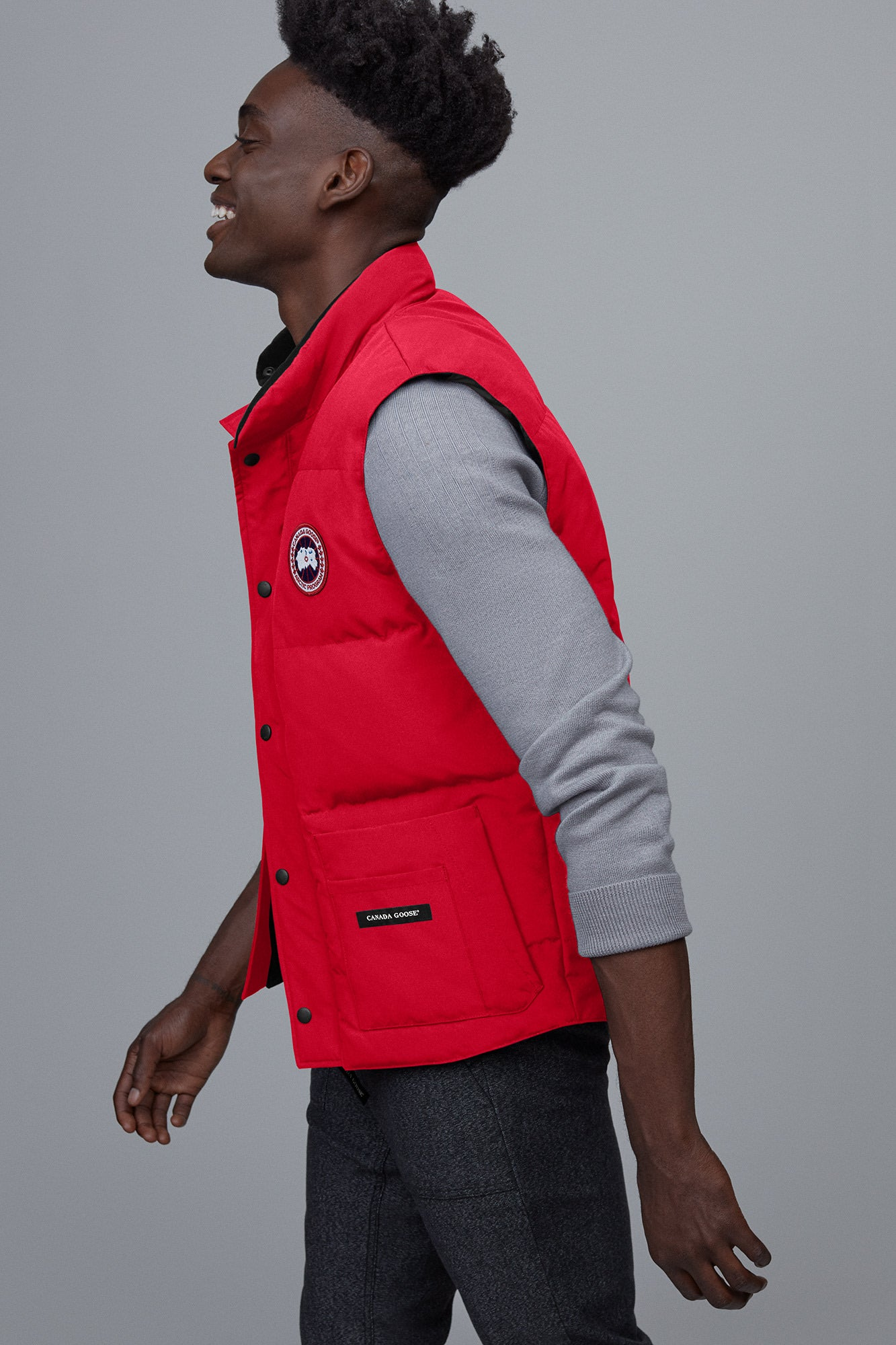 Freestyle Down Vest-Canada Goose-Over the Rainbow