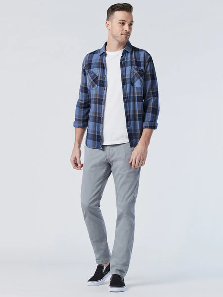 Johnny Sateen Twill Slim Pant - Monument