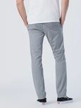 Johnny Sateen Twill Slim Pant - Monument-Mavi-Over the Rainbow