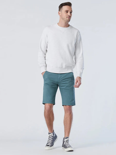 Jacob Twill Short - Silver Pine-Mavi-Over the Rainbow