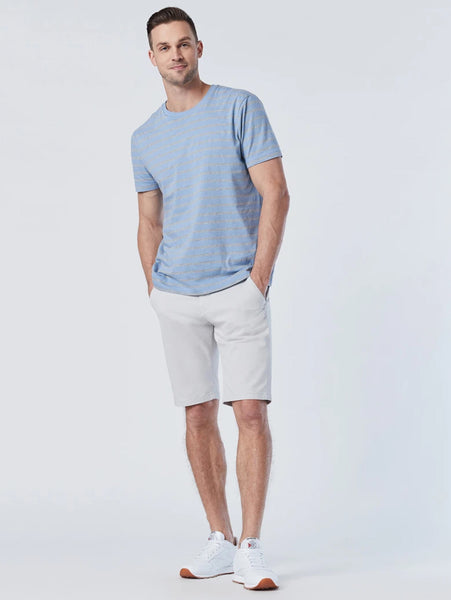 Jacob Twill Short - Oyster Mushroom-Mavi-Over the Rainbow