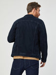 Drake Denim Jacket - Blue Black Athletic-Mavi-Over the Rainbow