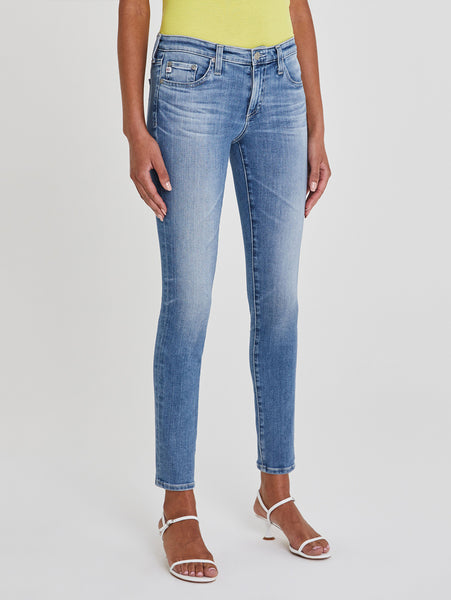 Farrah High Rise Skinny Ankle Jean - 19 Years Elevation-AG Jeans-Over the Rainbow